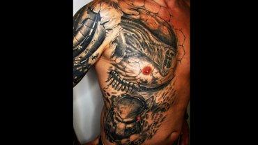 Tetování vetřelec vs predátor